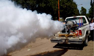 Comienzan los trabajos de fumigación por barrios