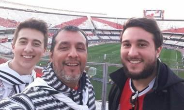La historia de Rubén y River, previo a la Final de la Copa Libertadores
