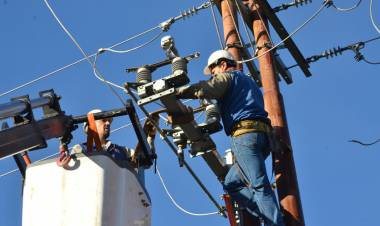 Habrá dos cortes de energía programados para el viernes