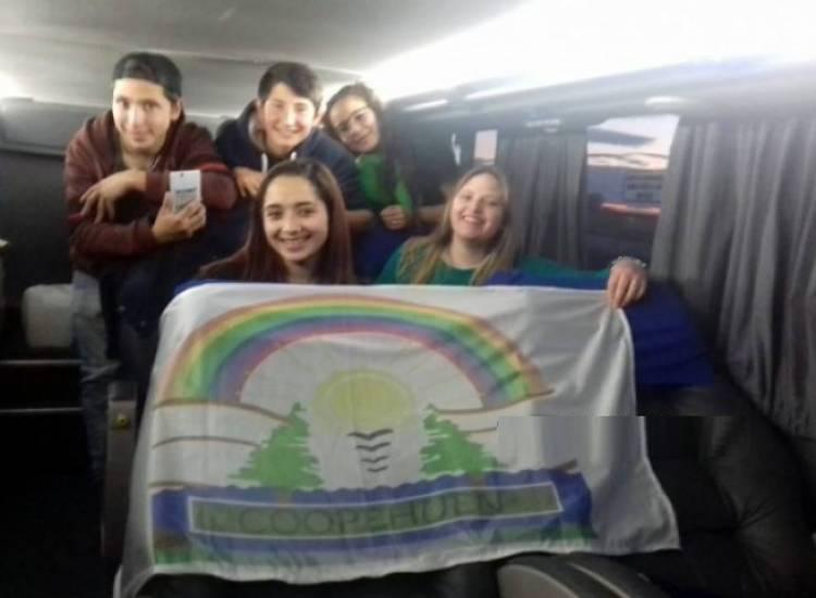Coopehuen participa de un encuentro nacional de cooperativismo escolar