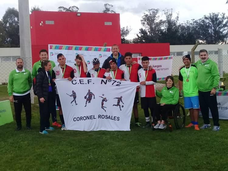La delegación de Rosales regresa de Mar del Plata con varias medallas