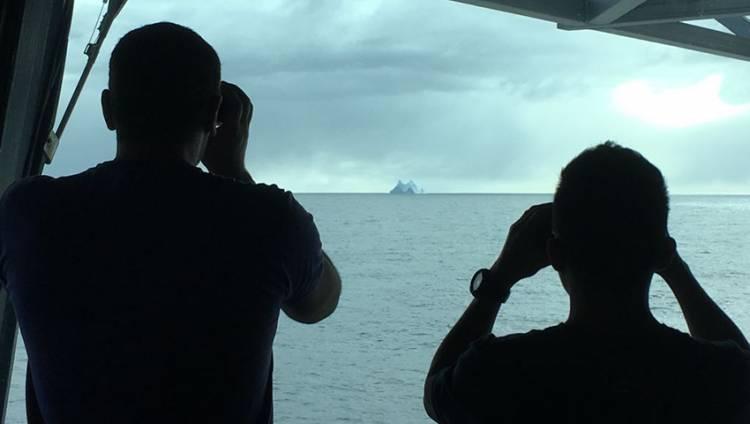"""Registraron témpanos en la zona de búsqueda del submarino ARA """"San Juan"""""""